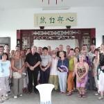 Groupe de 30 personnes en Chine