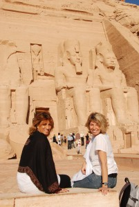 Sahar Salah et Marie-Chantal Labelle