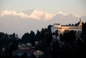 Le Kangchenjunga vu de Darjeeling