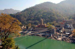Rishikesh et le Gange émeraude