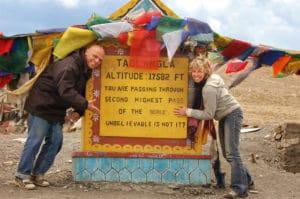 Robert Bérubé et Marie-Chantal Labelle au Ladakh en Inde - Voyages en petits groupes et sur mesure en Asie, Afrique, Amérique du Sud
