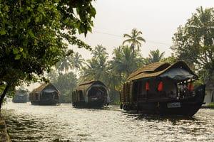 Voyage organisé en petit groupe - houseboat Kerala - Inde du sud - Agence de voyage Les Routes du Monde