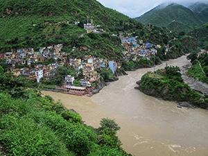 Voyage organisé sur mesure - Devprayag - Inde du nord - Agence de voyage Les Routes du Monde