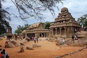 Voyage organisé en petit groupe - Mahabalipuram Tamil Nadu - Inde du sud - Agence de voyage Les Routes du Monde