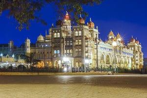 Voyage organisé en petit groupe - palais de Mysore - Inde - Agence de voyage Les Routes du Monde