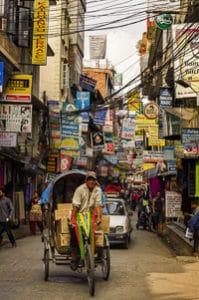 Voyage organisé en petit groupe - Thamel Kathmandu - Népal - Agence de voyage Les Routes du Monde