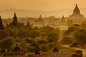 Temples de Bagan, Myanmar - Les Routes du monde