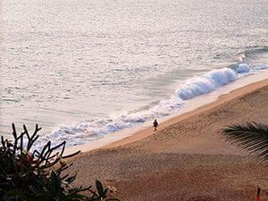 Voyage organisé en petit groupe - plage Kovalam - Inde du sud - Agence de voyage Les Routes du Monde