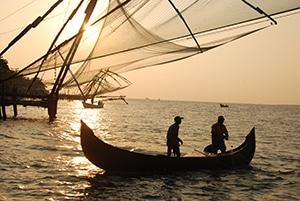 Voyage organisé en petit groupe - Carrelets de Kochin - Inde - Agence de voyage Les Routes du Monde