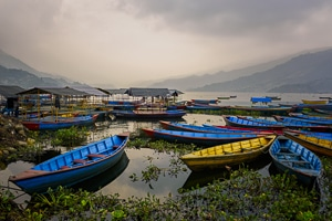 Voyage organisé en petit groupe - lac Phewa Pokhara - Népal - Agence de voyage Les Routes du Monde