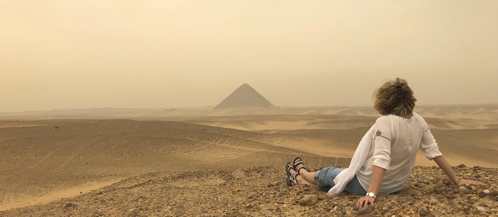 Pyramides de Gizeh, Égypte - les Routes du Monde