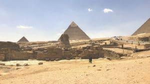 Voyage organisé en petit groupe - Pyramides de Gyseh - Egypte - Agence de voyage Les Routes du Monde