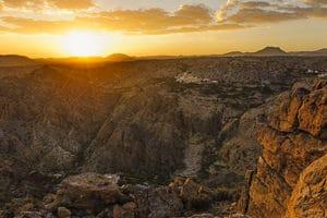 Plateau de Sayq, Oman