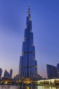 Burj Khalifa à Dubaï, émirats arabes unis