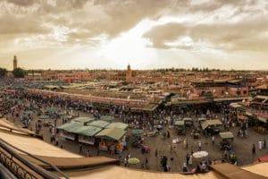 Place Jemma El Fna, Marrakech, Maroc - Les Routes du Monde