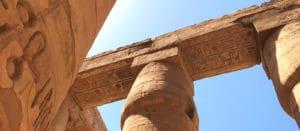 Voyage organisé en petit groupe - salle hypostyle Karnak - Egypte - Agence de voyage Les Routes du Monde