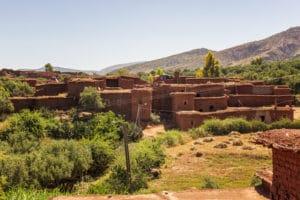 Paysage de campagne au Maroc - Les Routes du Monde