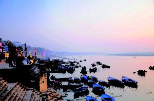 Photo de Varanasi à l'aube - Les Routes du Monde