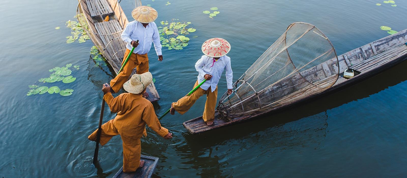 Voyage organisé en petit groupe - Lac Inle - Myanmar - Agence de voyage Les Routes du Monde