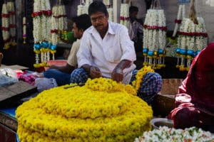Voyage organisé en petit groupe - marché de Mysore - Inde - Agence de voyage Les Routes du Monde