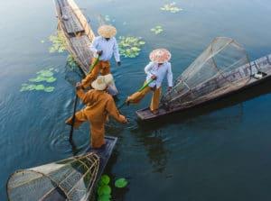 Photo du Lac Inle au Myanmar - Les routes du monde