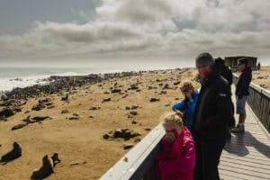 Voyage organisé en petit groupe - Cape Cross - Namibie - Agence de voyage Les Routes du Monde