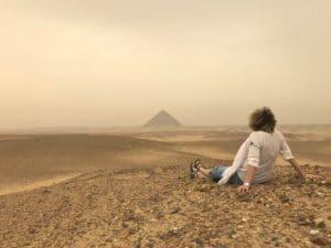 Pyramide de Dahchour, Égypte - Les Routes du Monde