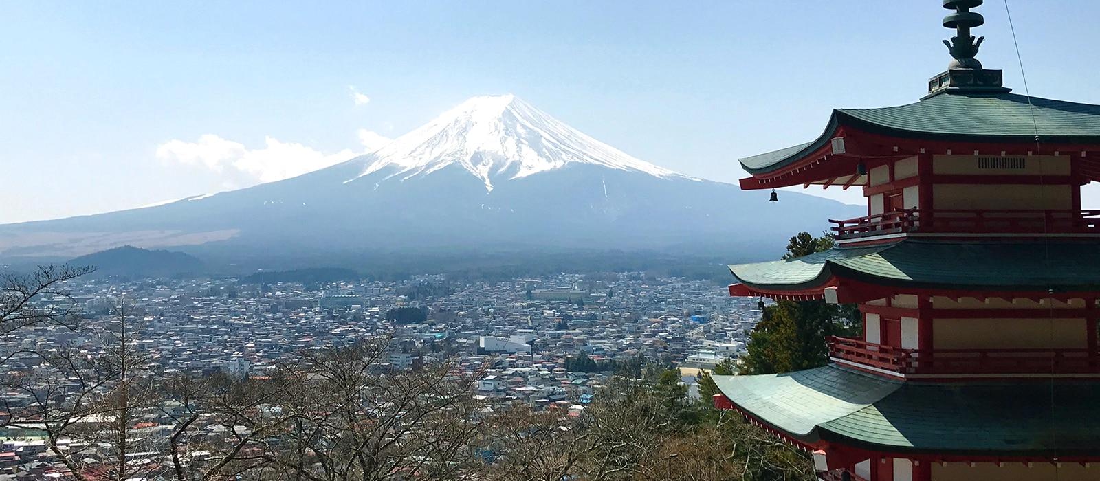 Voyage organisé en petit groupe - Mont Fuji - Japon - Agence de voyage Les Routes du Monde
