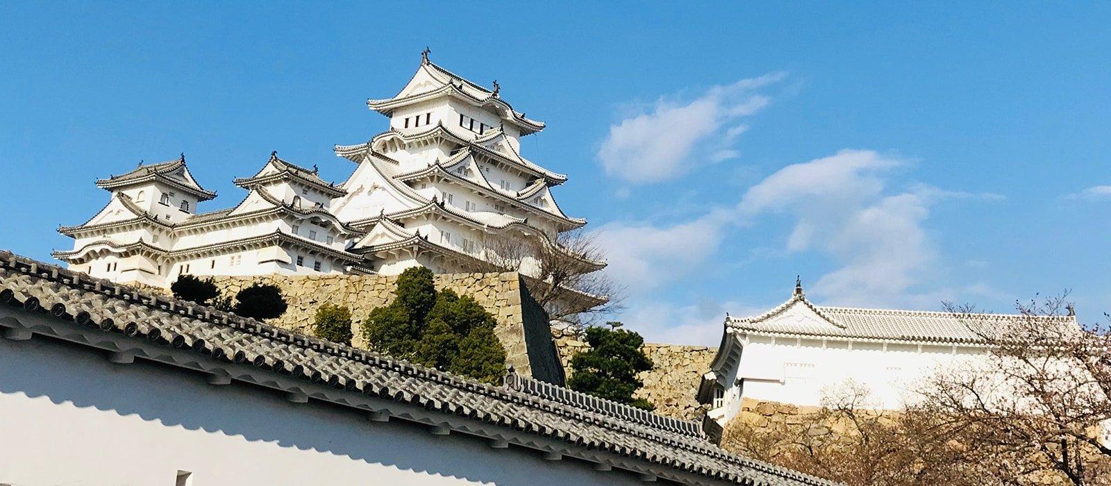 Voyage organisé en petit groupe - château Himeji - Japon - Agence de voyage Les Routes du Monde