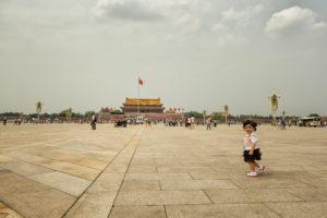 Voyage organisé en petit groupe - Beijing - Place Tian anmen - Chine - Agence de voyage Les Routes du Monde