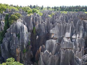 Voyage organisé en petit groupe - Forêt de pierre - Chine - Agence de voyage Les Routes du Monde