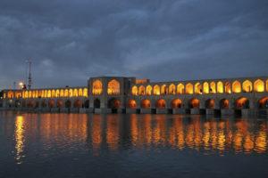 Voyage organisé en petit groupe - Khajoo Bridge - Ispahan - Iran - Agence de voyage Les Routes du Monde
