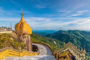 Kyaiktiyo, Myanmar - Les routes du monde