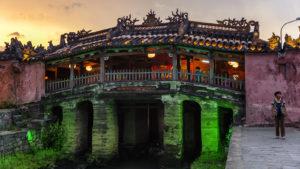 Voyage organisé en petit groupe - pont Japonais Hoian - Vietnam - Agence de voyage Les Routes du Monde