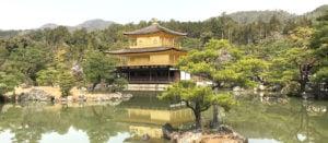 Voyage organisé en petit groupe - Kinkakuji pavillon d'or - Japon - Agence de voyage Les Routes du Monde