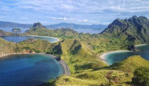 Ile de Padar, Komodo, Indonésie - Les routes du monde