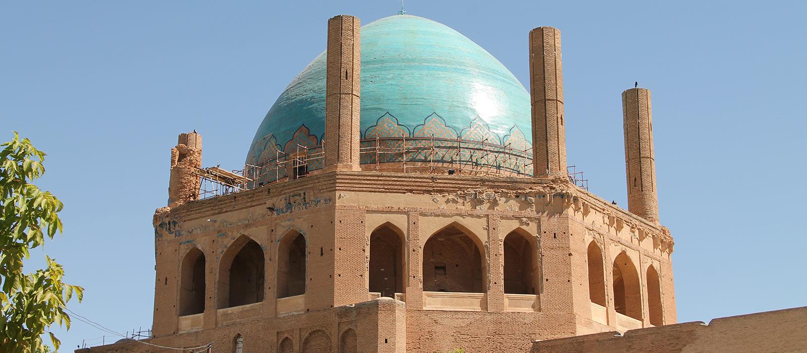 Voyage organisé en petit groupe - Soltanyeh Dome - Zanjan - Iran - Agence de voyage Les Routes du Monde