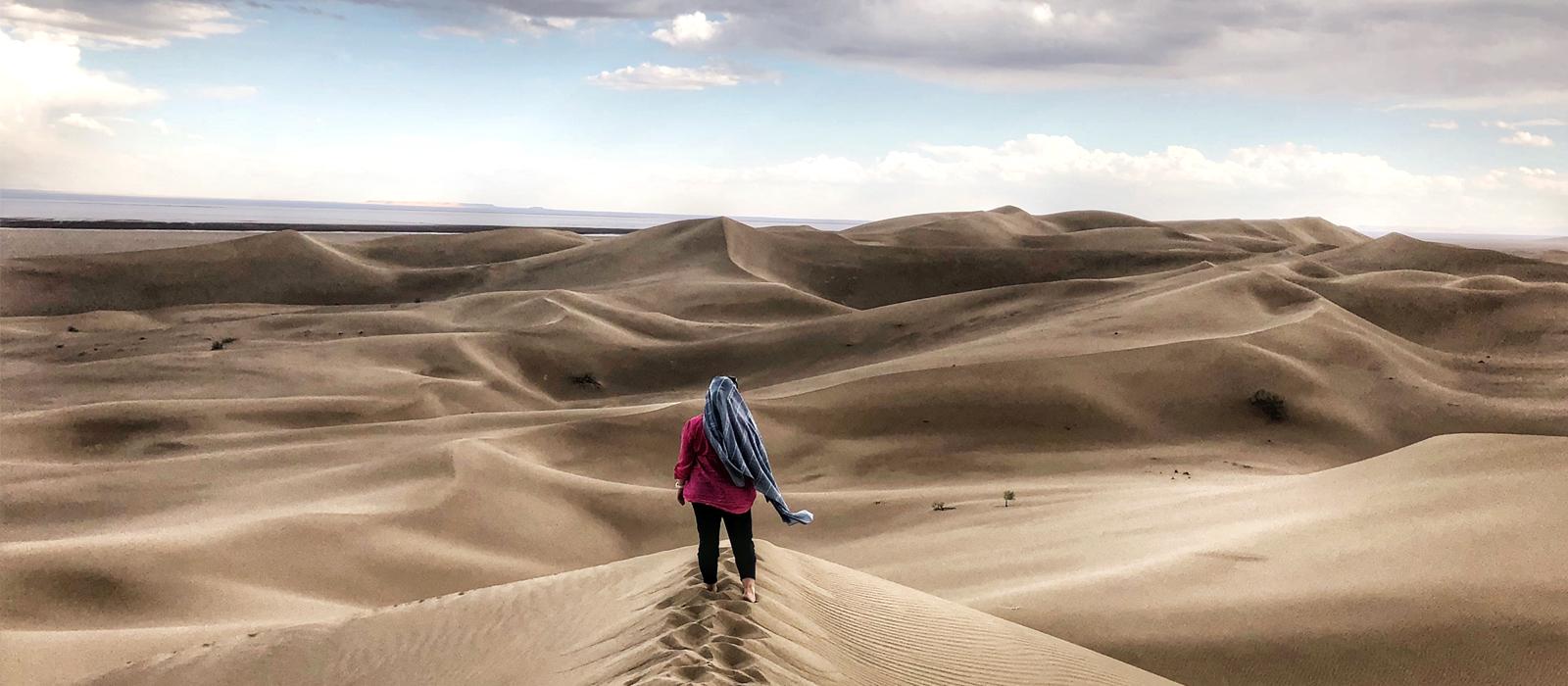 Voyage organisé en petit groupe - Varzaneh - Iran - Agence de voyage Les Routes du Monde