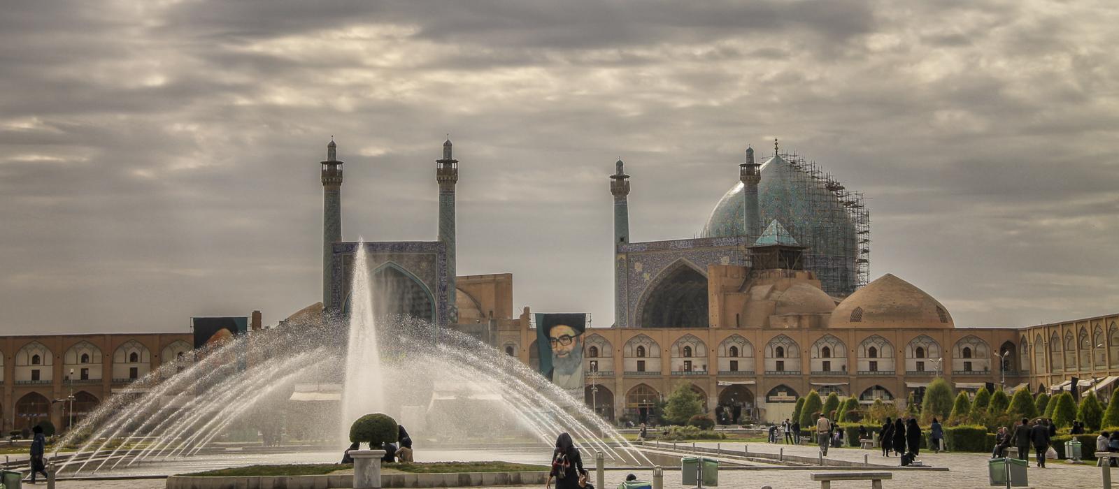 Voyage organisé en petit groupe - Azadi Square, ispahan - Iran - Agence de voyage Les Routes du Monde