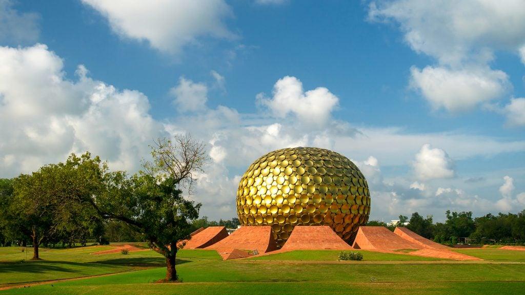 Voyage organisé en petit groupe - Auroville - Inde du Sud - Agence de voyage Les Routes du Monde