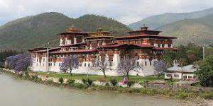 Voyage organisé en petit groupe - Punakha - Bhoutan - Agence de voyage Les Routes du Monde