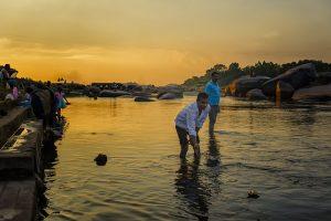 Voyage organisé en petit groupe - Hampi - Les Ghats 02 - Inde du Sud - Agence de voyage Les Routes du Monde