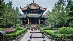 Voyage organisé en petit groupe - Temple de Wuhou - Chengdu - Chine - Agence de voyage Les Routes du Monde