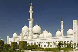 la Mosquée de Sheikh Zayed - Abu Dhabi