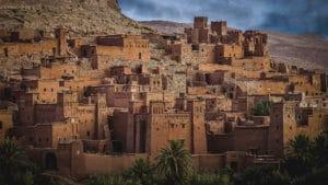 Photo de la Kasbah de Ait-Ben-Haddou, Maroc - Les Routes du Monde