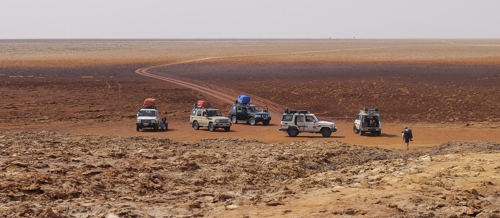 Voyage organisé en petit groupe - Dépression Danakil - Éthiopie - Agence de voyage Les Routes du Monde