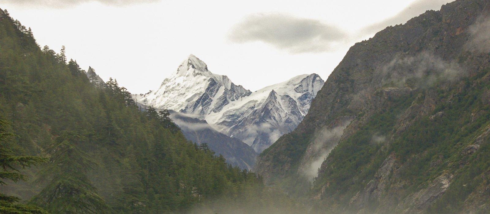 Voyage organisé sur mesure - Gangotri Garhwal - Inde du nord - Agence de voyage Les Routes du Monde