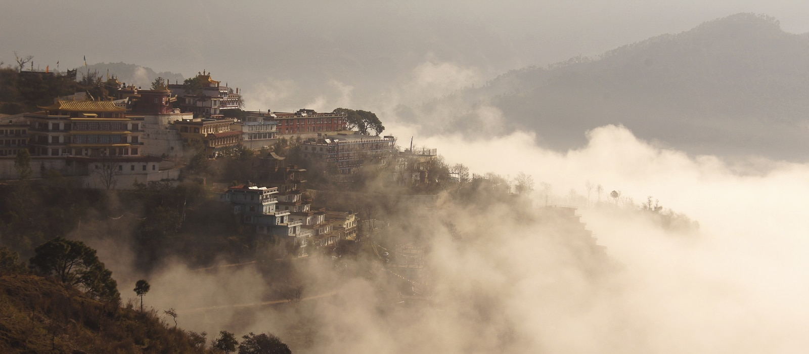 Voyage organisé sur mesure - Monastère de Menri - Inde du nord - Agence de voyage Les Routes du Monde