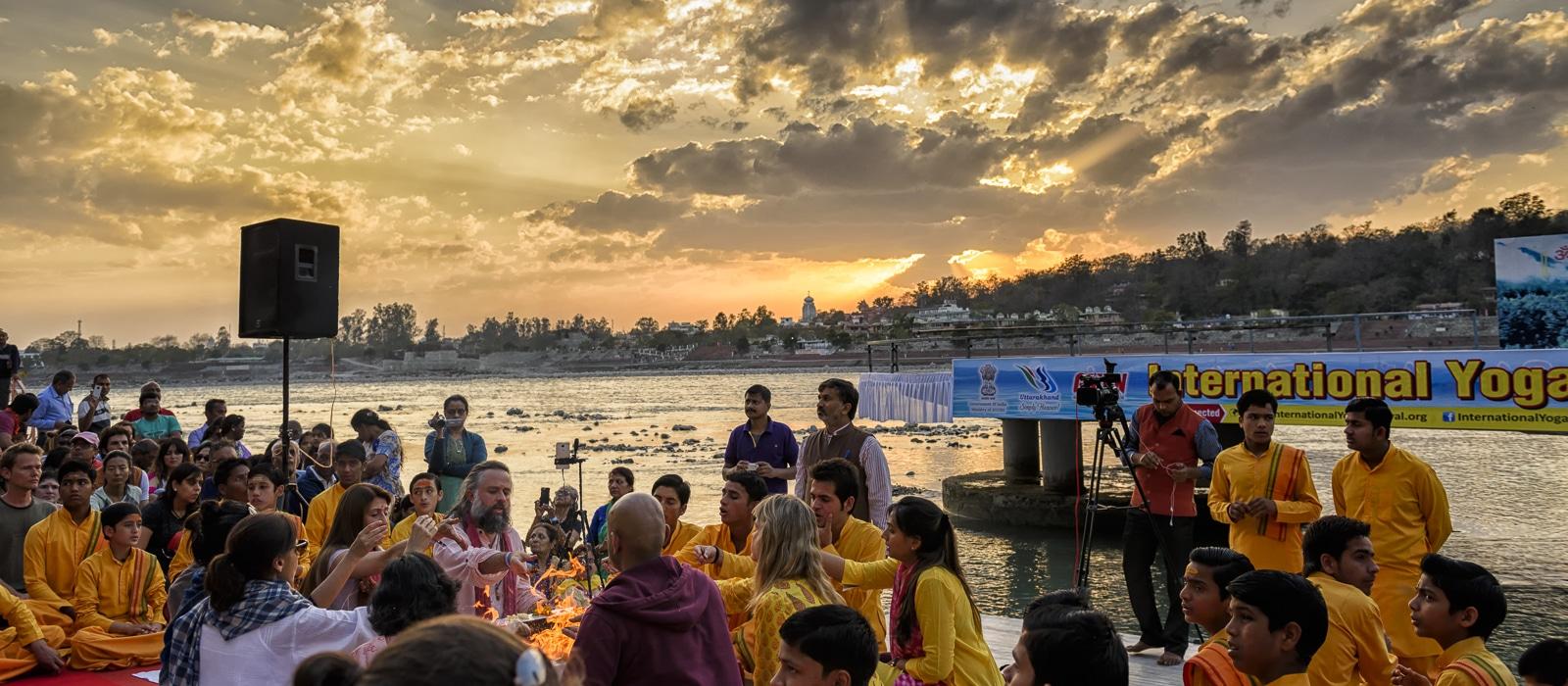 Voyage organisé en petit groupe - Rishikesh - Inde du nord - Agence de voyage Les Routes du Monde