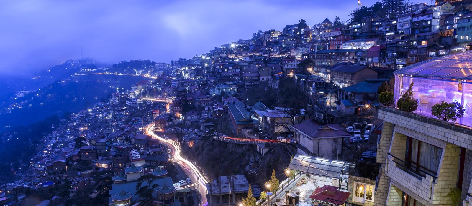 Voyage organisé en petit groupe - Shimla - Inde du nord - Agence de voyage Les Routes du Monde